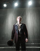 KING LEAR   by Shakespeare   ~set design: Giles Cadle   costumes: Nicki Gillibrand   lighting: Howard Harrison   director: Rupert Goold ~Forbes Masson (Fool)~Everyman Theatre, Liverpool / England   in...