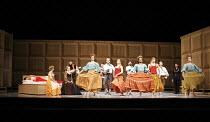 ROMEO AND JULIET   On Motifs of Shakespeare    music: Sergey Prokofiev   ~set design: Allen Meyer   costumes: Martin Pakledinaz   choreography: Mark Morris ~wedding partygoers~Mark Morris Dance Group...