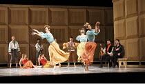 ROMEO AND JULIET   On Motifs of Shakespeare    music: Sergey Prokofiev   set design: Allen Meyer   costumes: Martin Pakledinaz   choreography: Mark Morris ~wedding partygoers~Mark Morris Dance Group /...