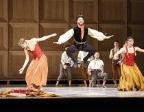 ROMEO AND JULIET   On Motifs of Shakespeare    ~music: Sergey Prokofiev   set design: Allen Meyer   costumes: Martin Pakledinaz   choreography: Mark Morris ~wedding partygoers~Mark Morris Dance Group...