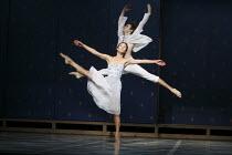 ROMEO AND JULIET   On Motifs of Shakespeare    music: Sergey Prokofiev   set design: Allen Meyer   costumes: Martin Pakledinaz   choreography: Mark Morris ~Maile Okamura (Juliet), Noah Vinson (Romeo)~...