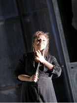ELEKTRA   by Richard Strauss   conductor: Mark Elder   set design & direction: Charles Edwards   costumes: Brigitte Reifenstuel ~Susan Bullock (Elektra)~The Royal Opera (RO) / Covent Garden   London W...