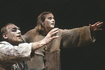 THE THEBANS   by Sophocles   in a new translation by Timberlake Wertenbaker   design: Ultz   director: Adrian Noble ~part ii - OEDIPUS AT COLONUS: Gerard Murphy (Oedipus), Joanne Pearce (Antigone) ~Ro...