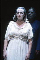 THE THEBANS   by Sophocles   in a new translation by Timberlake Wertenbaker   ~design: Ultz   director: Adrian Noble ~part iii - ANTIGONE: Joanne Pearce (Antigone) ~Royal Shakespeare Company (RSC) / S...