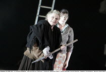 RIDERS TO THE SEA   by Vaughan Williams   after the play by J M Synge   conductor: Edward Gardner   design: Dorothy Cross & Tom Pye   lighting: Jean Kalman   director: Fiona Shaw ~l-r: Patricia Bardon...