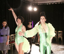 MISS HIGH LEG KICK AND BOOGALOO STU SCHOOL OF DANCE   Miss High Leg Kick, Boogaloo Stu    Rehearsal Room / bite08 / Barbican Theatre, London EC2      03/12/2008