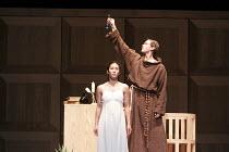 ROMEO AND JULIET   On Motifs of Shakespeare    music: Sergey Prokofiev   set design: Allen Meyer   costumes: Martin Pakledinaz   choreography: Mark Morris ~Maile Okamura (Juliet), John Heginbotham (Fr...