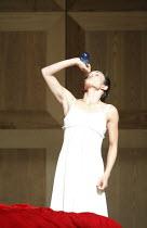 ROMEO AND JULIET   On Motifs of Shakespeare    music: Sergey Prokofiev   ~set design: Allen Meyer   costumes: Martin Pakledinaz   choreography: Mark Morris ~Juliet takes poison: Maile Okamura (Juliet)...