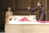 ROMEO AND JULIET   On Motifs of Shakespeare    music: Sergey Prokofiev   set design: Allen Meyer   costumes: Martin Pakledinaz   choreography: Mark Morris ~Capulet discovers drugged Juliet & potion -...