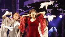 CINDERELLA   written by Ben Power & Melly Still   design: Sofia Clist   director: Melly Still ~~l-r: Kelly Williams (Candide), Elizabeth Chan (Cinderella)~Lyric Hammersmith (LTH), London W6        05/...