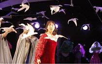 CINDERELLA   written by Ben Power & Melly Still   design: Sofia Clist   director: Melly Still ~~Elizabeth Chan (Cinderella)~Lyric Hammersmith (LTH), London W6        05/12/2008