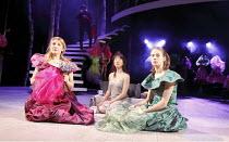 CINDERELLA   written by Ben Power & Melly Still   design: Sofia Clist   director: Melly Still ~~l-r: Kelly Williams (Candide), Elizabeth Chan (Cinderella), Katherine Manners (Dorothy)~Lyric Hammersmit...