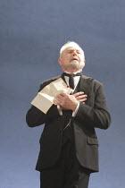 TWELFTH NIGHT   by Shakespeare   design: Christopher Oram   lighting: Neil Austin   director: Michael Grandage ~Derek Jacobi (Malvolio)~Donmar West End at Wyndham's Theatre, London WC2        10/12/20...