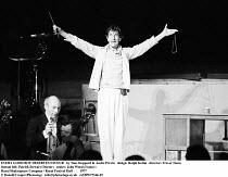 EVERY GOOD BOY DESERVES FAVOUR   by Tom Stoppard & Andre Previn   design: Ralph Koltai   director: Trevor Nunn ~bottom left: Patrick Stewart (Doctor)   centre: John Wood (Ivanov)   ~Royal Shakespeare...