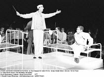 EVERY GOOD BOY DESERVES FAVOUR   by Tom Stoppard & Andre Previn   design: Ralph Koltai   director: Trevor Nunn ~l-r: John Wood (Ivanov), Ian McKellen (Alexander)~Royal Shakespeare Company / Royal Fest...