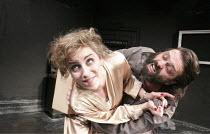 SIMPATICO   by Sam Shepard   design: Lorna Ritchie   director: Hannah Eidinow ~Danielle King (Rosie), Phil Nichol (Vinnie)   ~Old Red Lion Theatre, London EC1                15/01/2009