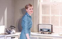 MRS  AFFLECK   by Samuel Adamson   after 'Little Eyolf' by Ibsen   design: Bunny Christie   lighting: Neil Austin   director: Marianne Elliott ~Claire Skinner (Rita Affleck)   ~Cottesloe Theatre / Nat...