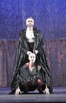A MIDSUMMER NIGHT'S DREAM   by Shakespeare    design: Michael Pavelka   lighting: Ben Ormerod   director: Edward Hall   top: Richard Clothier (Oberon)   bottom: Jon Trenchard (Robin Goodfellow / Puc...