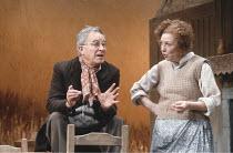 DANCING AT LUGHNASA   by Brian Friel   design: Joe Vanek   director: Patrick Mason ~Alec McCowen (Jack), Anita Reeves (Maggie)~Abbey Theatre Dublin production / Phoenix Theatre, London WC2   25/03/199...