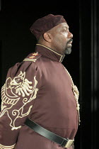OTHELLO by Shakespeare  set design: Ruari Murchison  costumes: Stephen Snell  lighting: Guy Hoare  director: Barrie Rutter ~Lenny Henry (Othello)~a Northern Broadsides & West Yorkshire Playhouse co-pr...