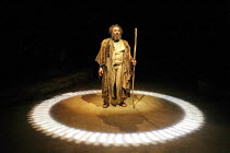 THE TEMPEST   by Shakespeare   design: Illka Louw   lighting: Mannie Manim   director: Janice Honeyman ~~Antony Sher (Prospero)~Baxter Theatre Centre (Cape Town) in association with Royal Shakespeare...