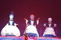 PRISCILLA QUEEN OF THE DESERT THE MUSICAL   by Stephan Elliott & Allan Scott   ~design: Brian Thomson   costumes: Tim Chappel & Lizzy Gardiner   director: Simon Phillips ~l-r: Jason Donovan (Tick), Ol...