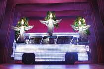 PRISCILLA QUEEN OF THE DESERT THE MUSICAL   by Stephan Elliott & Allan Scott   ~design: Brian Thomson   costumes: Tim Chappel & Lizzy Gardiner   director: Simon Phillips  ~3 Divas - l-r: Kate Gillespi...