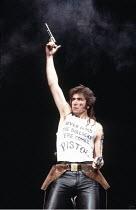 HENRY IV part ii   by Shakespeare   design: Chris Dyer   director: Michael Bogdanov ~John Price (Pistol)~'THE HENRYS' / English Shakespeare Company   Old Vic Theatre, London   21/03/1987