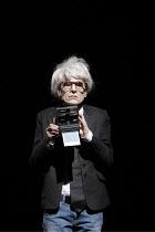 INFERNO   written, directed and designed by Romeo Castellucci   inspired by Dante Alighieri's 'Divine Comedy'   Silvia Costa (as Andy Warhol) Societas Raffaello Sanzio / Spill Festival of Performanc...