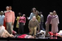 INFERNO   written, directed and designed by Romeo Castellucci   inspired by Dante Alighieri's 'Divine Comedy'   'The People' - multiple throat-slittings Societas Raffaello Sanzio / Spill Festival of...