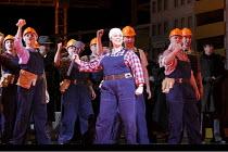 PARADISE MOSCOW   by Dmitry Shostakovich   conductor: James Holmes   design: Robert Innes Hopkins   ~lighting: Fabrice Kebour   original choreography:  Craig Revel Horwwood   director: David Pountney...