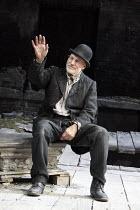 WAITING FOR GODOT   by Samuel Beckett   design: Stephen Brimson Lewis   lighting: Paul Pyant   director: Sean Mathias ~~Patrick Stewart (Vladimir)~Theatre Royal Haymarket (TRH), London SW1...