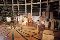 A DOLL'S HOUSE   by Ibsen   in a new version by Zinnie Harris   design: Anthony Ward   lighting: Hugh Vanstone   director: Kfir Yefet ~set   stage   props   Christmas tree~Donmar Warehouse / London WC...