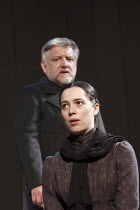 THE CHERRY ORCHARD   by Chekhov   in a new version by Tom Stoppard   set design: Anthony Ward   costumes: Catherine Zuber   lighting: Paul Pyant   director: Sam Mendes ~Rebecca Hall (Varya), Simon Rus...