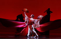 MADAM BUTTERFLY   by Puccini   conductor: Edward Gardner   set design: Michael Levine   costumes: Han Feng   ~lighting: Peter Mumford   director & choreographer: Carolyn Choa   original production: An...