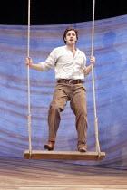 OKLAHOMA!   music: Richard Rodgers   book & lyrics: Oscar Hammerstein II    design: David Farley   choreography: Nikki Woolaston   lighting: Tim Mitchell   director: John Doyle   Michael Xavier (Cur...