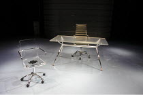 ENRON   by Lucy Prebble   design: Anthony Ward   lighting: Mark Henderson   director: Rupert Goold ~stage set (detail)  ~Minerva Theatre / Chichester Festival Theatre (CFT) / West Sussex, England   22...