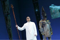 DAS RHEINGOLD   by Wagner   conductor: Valery Gergiev   stage design: George Tsypin   costumes: Tatiana Noginova   lighting: Gleb Filshtinsky   director: Alexander Zeldin   l-r: Evgeny Nikitin (Wotan...