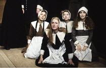 THE CRUCIBLE   by Arthur Miller   set design: Hayden Griffin   costumes: Deirdre Clancy   director: Bill Bryden Cottesloe Theatre / National Theatre (NT), London SE1     30/10/1980