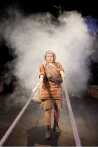 THE CAUCASIAN CHALK CIRCLE   by Brecht   in a new translation by Alistair Beaton   ~design: Colin Richmond   lighting: Chris Davey   director: Nancy Meckler  ~Matti Houghton (Grusha)~a West Yorkshire...