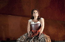 CARMEN by Bizet   conductor: Bertrand de Billy   design: Tanya McCallin   lighting: Paule Constable   director: Francesca Zambello ~Elina Garanca (Carmen)   ~The Royal Opera (RO) / Covent Garden   Lon...