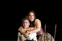 CARMEN by Bizet   conductor: Bertrand de Billy   design: Tanya McCallin   lighting: Paule Constable   director: Francesca Zambello ~Roberto Alagna (Don Jose), Elina Garanca (Carmen)   ~The Royal Opera...