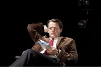 THE POWER OF YES   by David Hare   design: Bob Crowley   lighting: Paule Constable   director: Angus Jackson ~Anthony Calf (The Author)   ~Lyttelton Theatre / National Theatre (NT), London SE1    06/1...