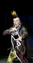 ARTURO BRACHETTI - CHANGE   written & directed by Sean Foley   Arturo Brachetti   as a punk    Garrick Theatre, London WC2                        26/10/2009