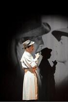 ARTURO BRACHETTI - CHANGE   written & directed by Sean Foley   Arturo Brachetti   as Bogart in 'Casablanca' Garrick Theatre, London WC2                        26/10/2009