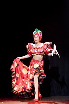 ARTURO BRACHETTI - CHANGE   written & directed by Sean Foley   Arturo Brachetti   as Carmen Miranda Garrick Theatre, London WC2                        26/10/2009