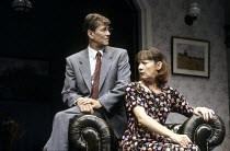 ABSENT FRIENDS  by Alan Ayckbourn  director: Peter James <br> ~~Gary Bond (Colin), Cherith Mellor (Marge)   ~Lyric Hammersmith (LTH), London W6                       30/07/1992