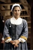 THE CRUCIBLE   by Arthur Miller   design: William Dudley   lighting: Chris Parry   director: Howard Davies ~Zoe Wanamaker (Elizabeth Proctor)~Olivier Theatre / National Theatre (NT), London SE1      3...