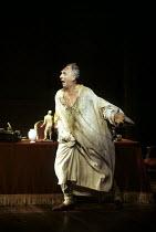 THE MADNESS OF GEORGE III   by Alan Bennett   design: Mark Thompson   lighting: Paul Pyant   director: Nicholas Hytner   Nigel Hawthorne (King George III) Lyttelton Theatre / National Theatre (NT),...
