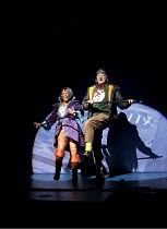 JACK AND THE BEANSTALK   written by Richard Bean, Joel Horwood, Morgan Lloyd Malcolm & Che Walker   design: Tom Scutt   lighting: Malcolm Rippeth   director: Steve Marmion ~Sean Kearns (Plug), Angela...
